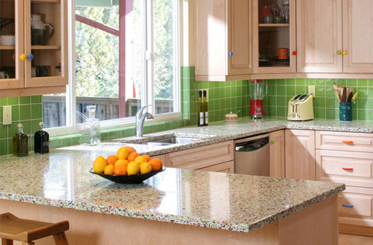 Countertop Material Alternatives : Sustainable Countertop Materials